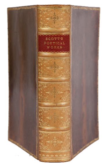 The Poetical Works. Walter Scott.