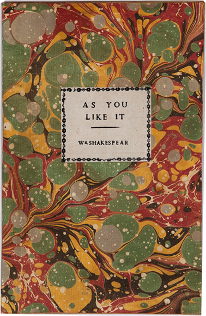 As You Like It. William Shakespeare.