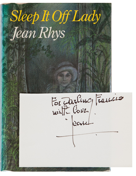 Sleep It Off Lady. Jean Rhys.