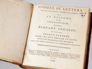 Models of Letters, For The Use of Schools and Private Students